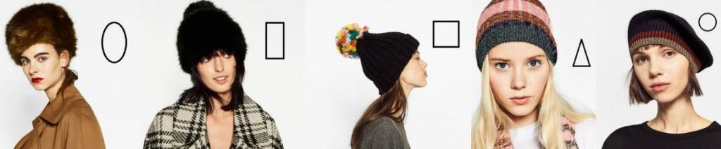 kształt twarzy a czapka